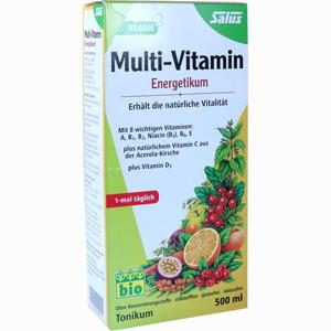 Abbildung von Salus Multi- Vitamin- Energetikum Saft 500 ml