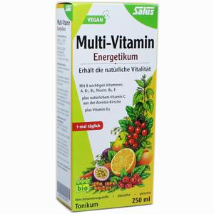Abbildung von Salus Multi- Vitamin- Energetikum Tonikum 250 ml