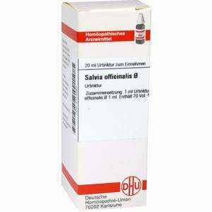 Abbildung von Salvia Offic Urtinktur Dilution 20 ml