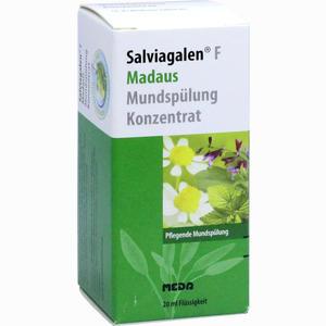 Abbildung von Salviagalen F Madaus Mundspülung Konzentrat  20 ml