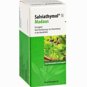 Abbildung von Salviathymol N Madaus Tropfen 20 ml