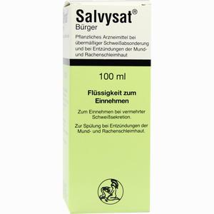 Abbildung von Salvysat Bürger Flüssigkeit Tropfen 100 ml