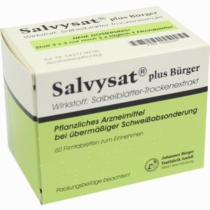 Abbildung von Salvysat Plus Bürger Filmtabletten 60 Stück