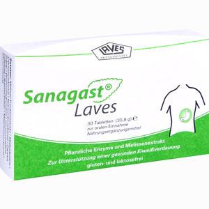 Abbildung von Sanagast Laves Tabletten 30 Stück