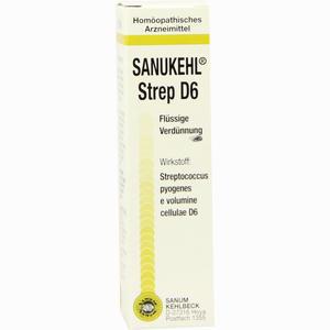 Abbildung von Sanukehl Strep D6 Tropfen 10 ml