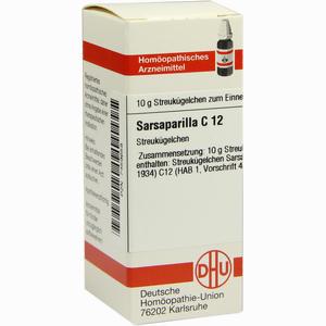 Abbildung von Sarsaparilla C12 Globuli 10 g