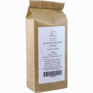 Abbildung von Schlehenblüten Gerebelt Tee 100 g