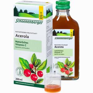 Abbildung von Schönenberger Acerolasaft  200 ml
