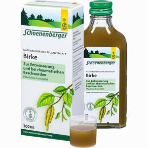 Abbildung von Schoenenberger Birkensaft  200 ml