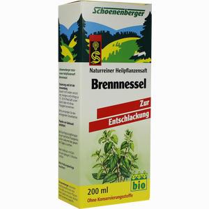 Abbildung von Schoenenberger Brennessel- Pflanzensaft  200 ml
