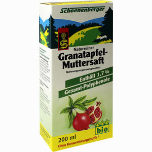 Abbildung von Schoenenberger Granatapfel- Muttersaft  200 ml