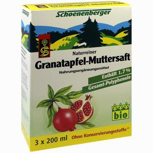 Abbildung von Schoenenberger Granatapfel- Muttersaft  3 x 200 ml