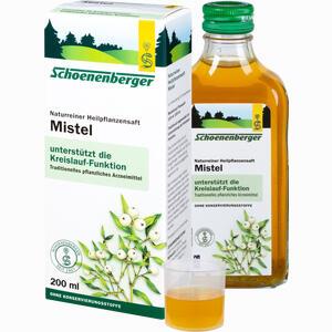 Abbildung von Schoenenberger Mistelsaft  200 ml