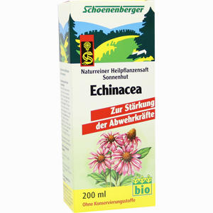 Abbildung von Schoenenberger Naturreiner Heilpflanzensaft Echinacea  200 ml