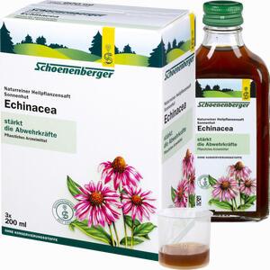 Abbildung von Schoenenberger Naturreiner Heilpflanzensaft Echinacea  3 x 200 ml