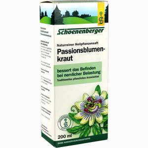 Abbildung von Schoenenberger Passionsblumenkraut Naturreiner Heilpflanzensaft  200 ml