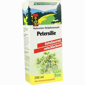 Abbildung von Schoenenberger Petersilie Heilpflanzensäfte Saft 200 ml
