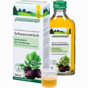 Abbildung von Schoenenberger Schwarzrettichsaft  200 ml
