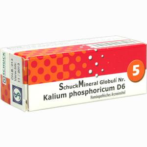 Abbildung von Schuckmineral Globuli 5 Kalium Phosphoricum D6  7.5 g