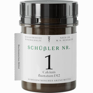 Abbildung von Schüssler Nr. 1 Calcium Fluoratum D12 Tabletten 1000 Stück