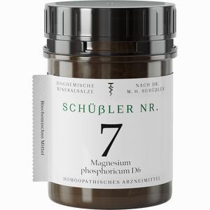 Abbildung von Schüssler Nr. 7 Magnesium Phosphoricum D6 Tabletten 1000 Stück