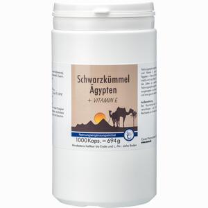 Abbildung von Schwarzkümmel ägypten + Vitamin E Kapseln 1000 Stück