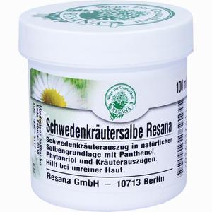 Abbildung von Schwedenkräutersalbe Resana  100 ml