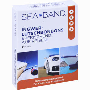 Abbildung von Sea- Band Ingwer- Lutschbonbons  24 Stück