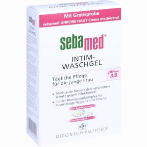 Abbildung von Sebamed Intim Waschgel Ph 3.8 Flüssigseife 200 ml