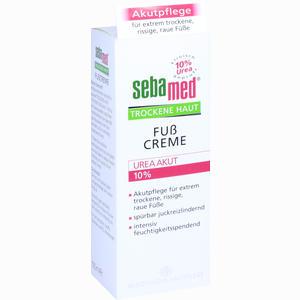 Abbildung von Sebamed Trockene Haut 10% Urea Akut Fußcreme  100 ml