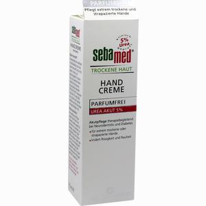 Abbildung von Sebamed Trockene Haut Handcreme Urea 5% Parfumfrei  75 ml