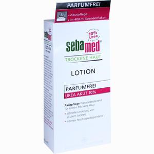 Abbildung von Sebamed Trockene Haut Lotion Urea 10% Parfumfrei  400 ml