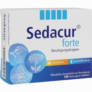 Abbildung von Sedacur Forte Beruhigungdragees  100 Stück