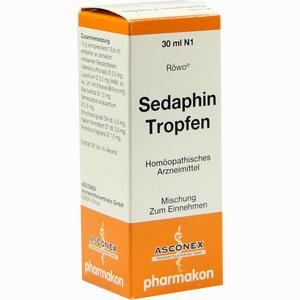 Abbildung von Sedaphin Tropfen  30 ml