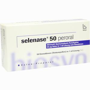 Abbildung von Selenase 50 Peroral Trinkampullen 50 x 1 ml