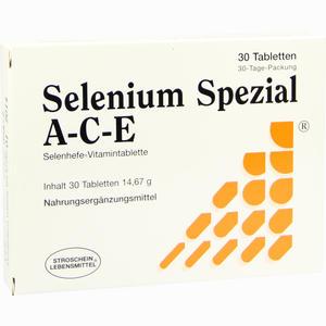 Abbildung von Selenium Spezial A- C- E Tabletten 30 Stück