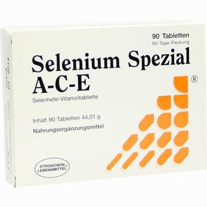 Abbildung von Selenium Spezial A- C- E Tabletten 90 Stück