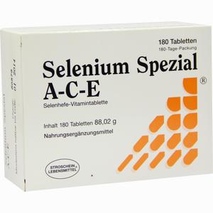Abbildung von Selenium Spezial A- C- E Tabletten 180 Stück