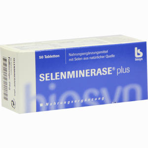Abbildung von Selenminerase Plus Tabletten 50 Stück