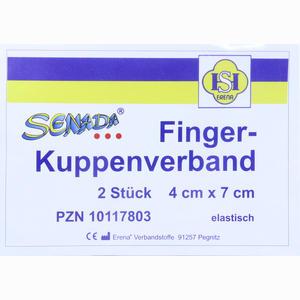Abbildung von Senada Fingerkuppenverband 4x7cm  2 Stück