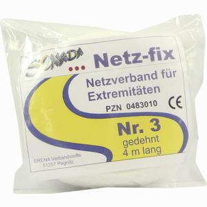 Abbildung von Senada Netz- Fix Netzverband für Extremitäten Nr. 3 Gedehnt 4m Lang 1 Stück
