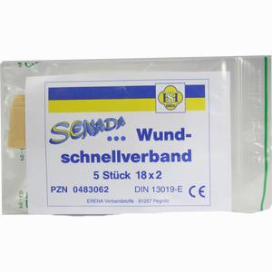 Abbildung von Senada Wundschnellverband 18cm X 2cm 5 Stück
