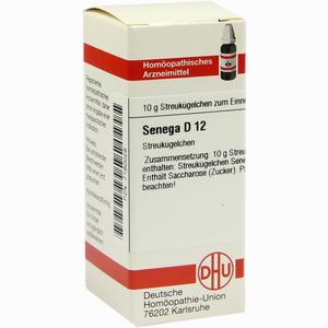 Abbildung von Senega D12 Globuli 10 g