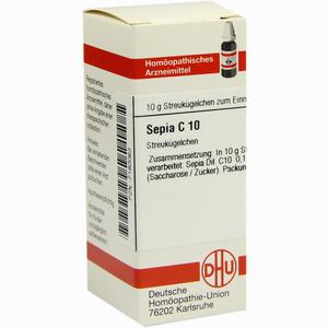 Abbildung von Sepia C10 Globuli 10 g