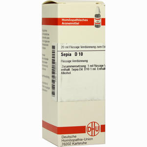 Abbildung von Sepia D10 Dilution 20 ml