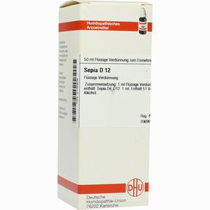 Abbildung von Sepia D12 Dilution 50 ml