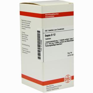 Abbildung von Sepia D12 Tabletten 200 Stück