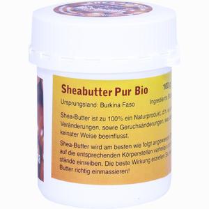 Abbildung von Sheabutter Pur Bio Unraffiniert 100 g