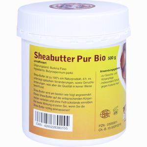 Abbildung von Sheabutter Pur Bio Unraffiniert Creme 500 g