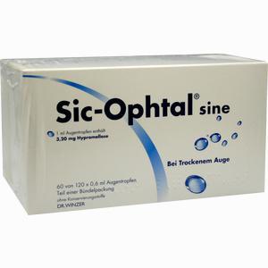 Abbildung von Sic- Ophtal Sine Augentropfen 120 x 0.6 ml